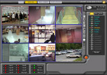 VIDEO-SURVEILLANCE IN REAL TIME